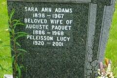 Adams, Sarah; Paquet, Auguste; Peleisson, Lucy