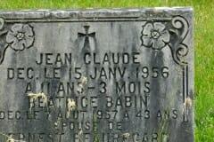 Claude, Jean; Babin, Beatrice