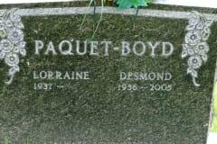 Paquet. Lorraine; Boyd, Desmond