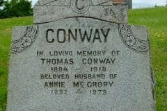 Conway, Thomas; McCrory, Annie