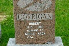 Corrigan, Hubert; Kack, Merle