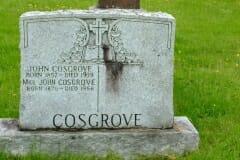Cosgrove, John