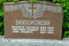Cosgrove, Beatrice & Constance & John