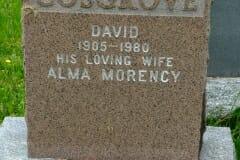 Cosgrove, David; Morency, Alma