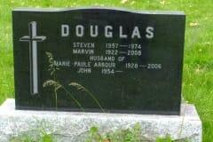 Douglas,, Steven & Marvin; Arbour, Marie-Paule