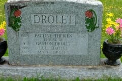 Therien, Pauline; Drolet, Gaston