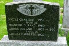 Chartier, Andre; Durand, Francine; Gaudette, Lucille