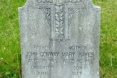 Conway, John & James; Hayes, Mary