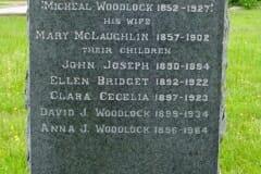Woodlock, Michael & John, Ellen, Clara, David, Anna; McLaughlin, Mary