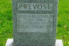 Prevost, John; Thomson, Elsie