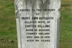 Abraham, Mary Ann & Billing, Curtis