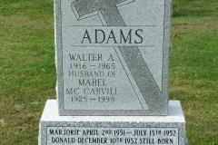 Adams, Walter & McCarvill, Mabel