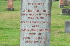 Billing, John & Neilson, Agnes Janet