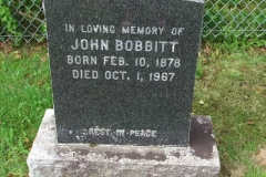 Bobbitt, John