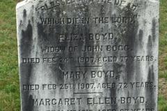 Boyd, Eliza & Bogg, John & Boyd, Mary & Margaret