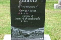 Adams, George & Vanhaesebroucke, Irene