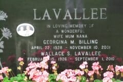 Billling, Georgina; Lavallee, Wallace
