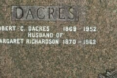 Dacres, Albert; Richardson, Margaret