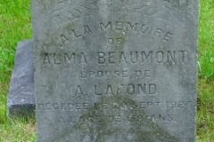 Beaumont, Alma; Lafond, A.
