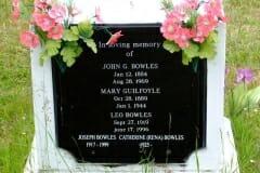 Bowles, John, Leo, Joseph & Catherine; Guilfoyle, Mary