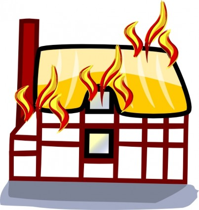 Richard Douglas's Farm Becomes Prey to Flames